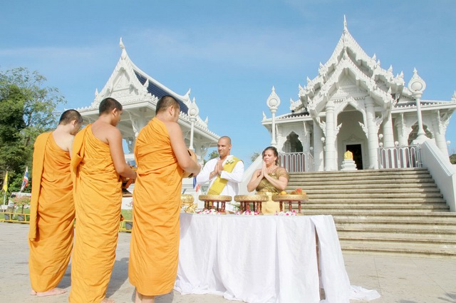 Temple Buddhist Blessing