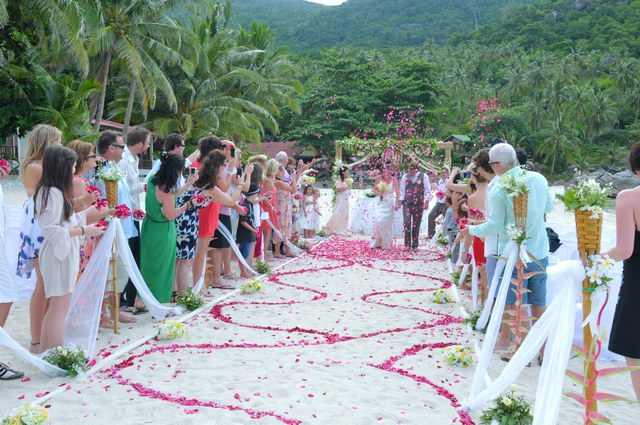 Koh phangan destination mariage paquet suratthani tha lande for East coast wedding destinations